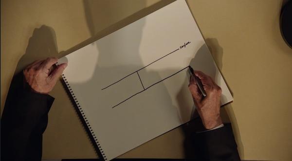 David Lynch drawing