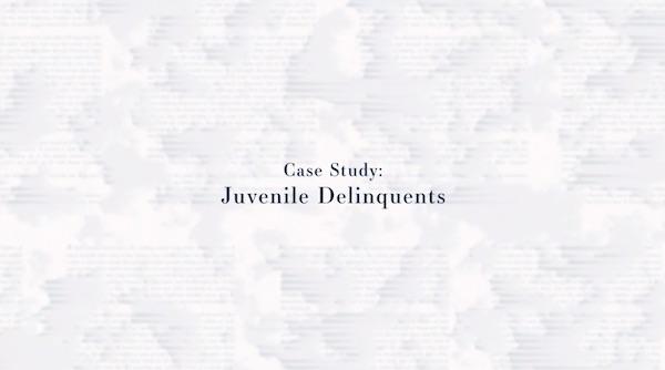 Juvenile Delinquents case study