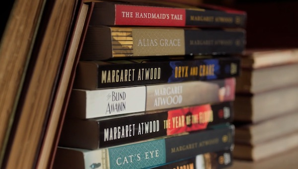 Margaret Atwood's book collection