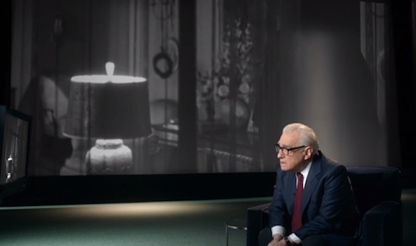 Martin Scorsese teaching in his MasterClass