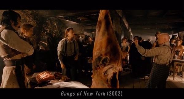 Scene from Gangs of New York