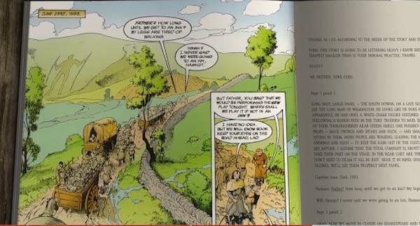 Neil Gaiman story example