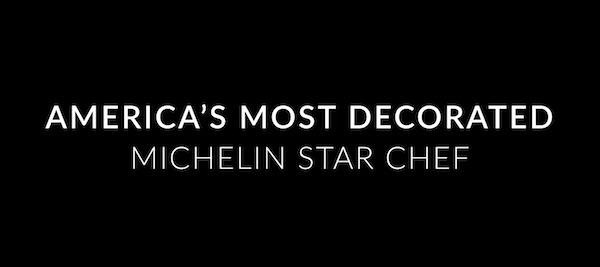 Thomas Keller is America's most decorated Michelin star chef