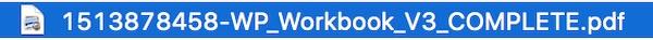 Wolfgang's downloadable workbook