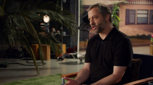 Apatow explaining how pitches work in comedy