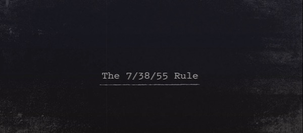 Chris Voss' 7/38/55 rule