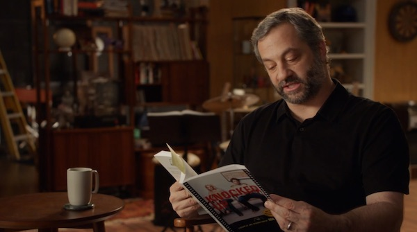 Judd Apatow reading Knocked Up