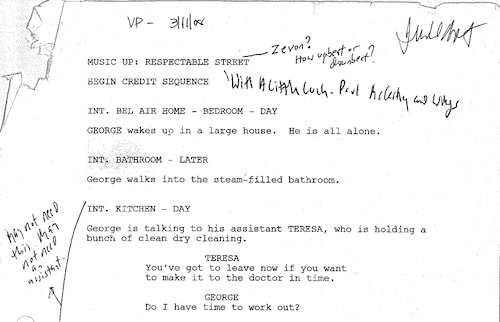 Judd Apatow sharing a draft in his MasterClass