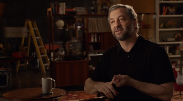 Judd Apatow teaching comedy in his MasterClass