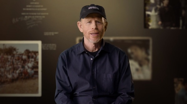 Ron Howard talking about cinematography
