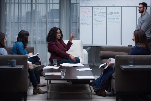 Shonda Rhimes providing advice in her MasterClass