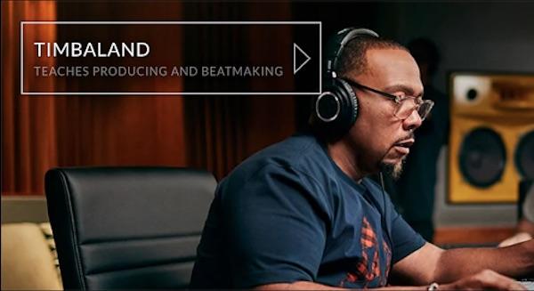 Timbaland teaches producing and beat making