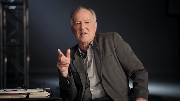 Werner Herzog teaching his MasterClass