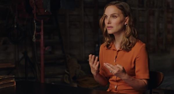 A scene from Natalie Portman's MasterClass