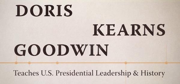 Doris Kearns Goodwin Teaches US Presidential Leadership