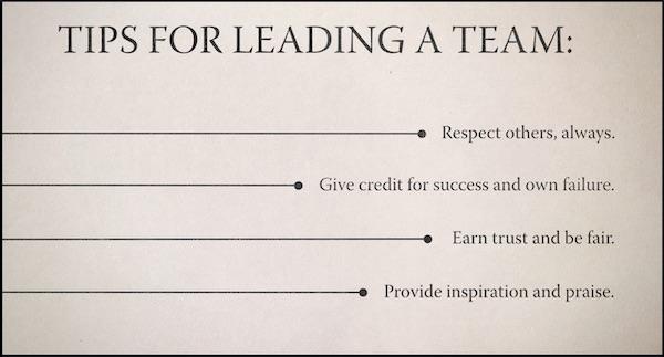 Doris Kearns Goodwin's tips for leaders