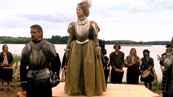 Helen Mirren as Elizabeth I