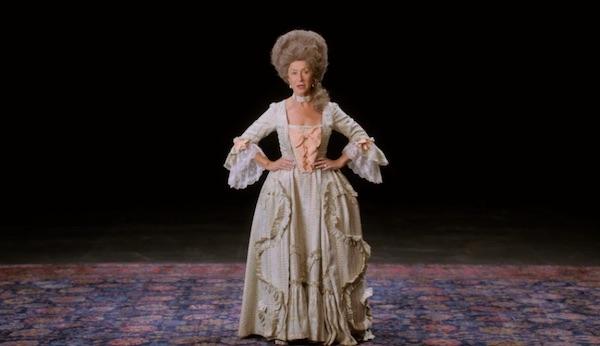 Helen Mirren in Shakespear costume