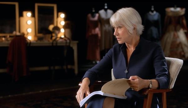 Helen Mirren on acting technique
