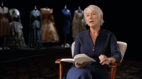 Helen Mirren on characters