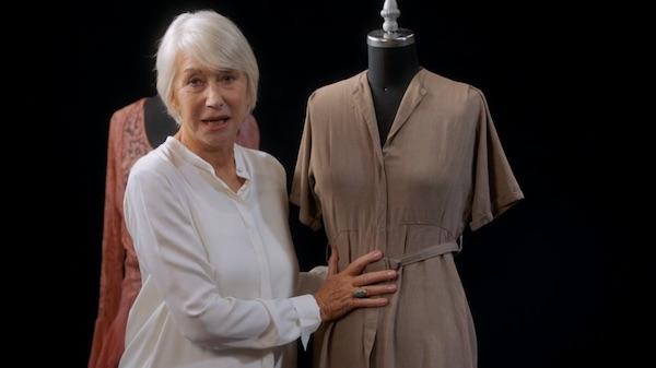 Helen Mirren on creating characters