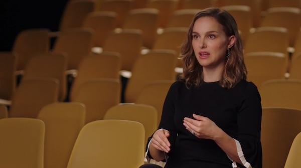 Natalie Portman explaining an acting concept