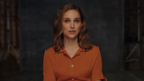 Natalie Portman explaining the relationship between actor and director