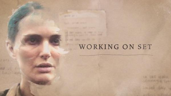 Natalie Portman on working on set