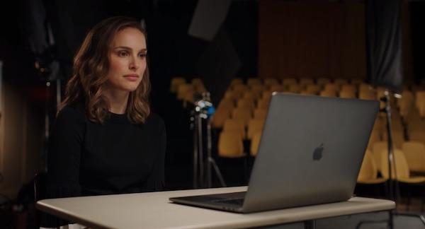 Natalie Portman teaching acting warm ups