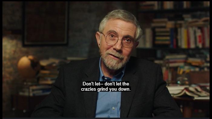 Paul Krugman teaches economics in his MasterClass