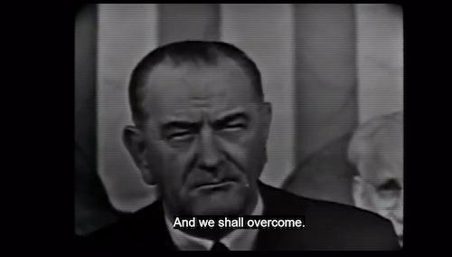 We shall overcome speech