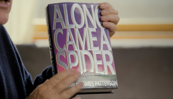 Along came a spider book cover