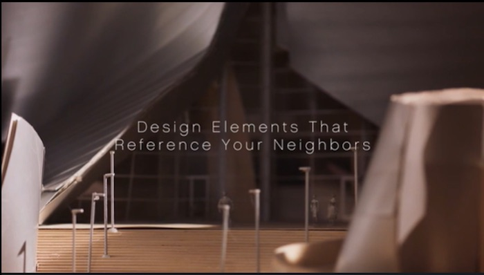 Design elements that reference your neighbors