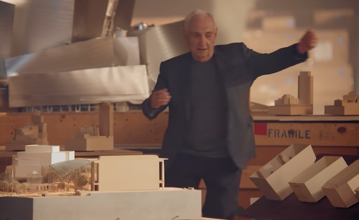 Frank Gehry dancing in his MasterClass