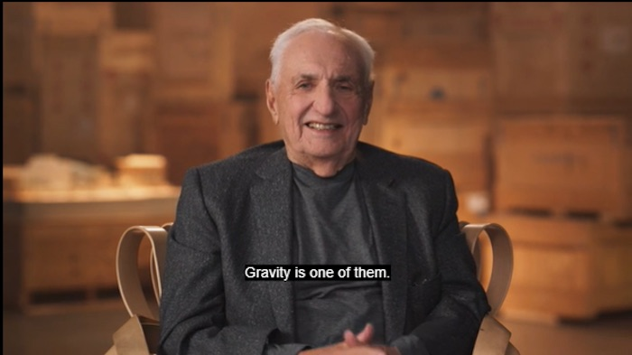 Frank Gehry teaching his MasterClass on architecture