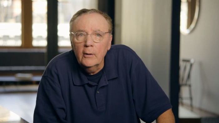James Patterson in his MasterClass