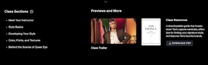 Tan France MasterClass preview