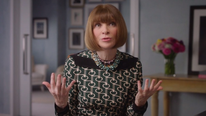 Anna Wintour explaining leading with a vision