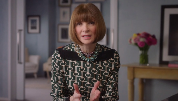 Anna Wintour on finding your own voice