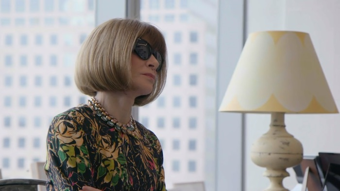 Anna Wintour talking about spotting designer talent in her MasterClass