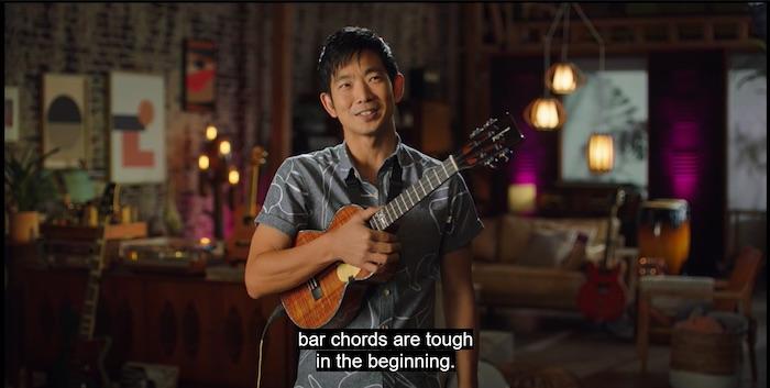 Jake Shimabukuro on advanced chords