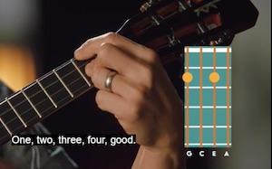 Jake Shimabukuro teaching chord progression