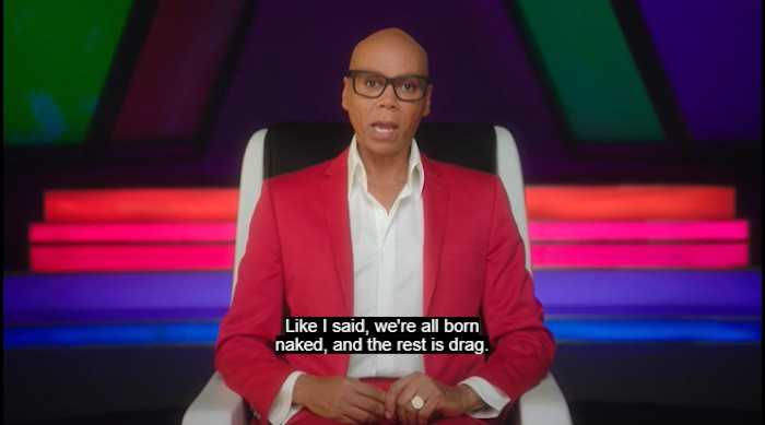 RuPaul teaching his MasterClass