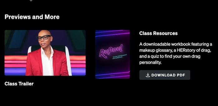 RuPaul's MasterClass