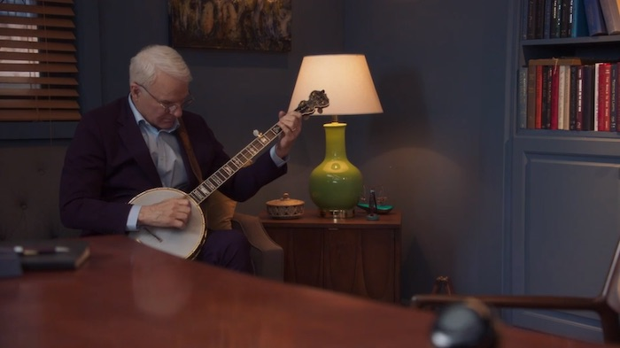 Steve Martin playing the banjo in his MasterClass