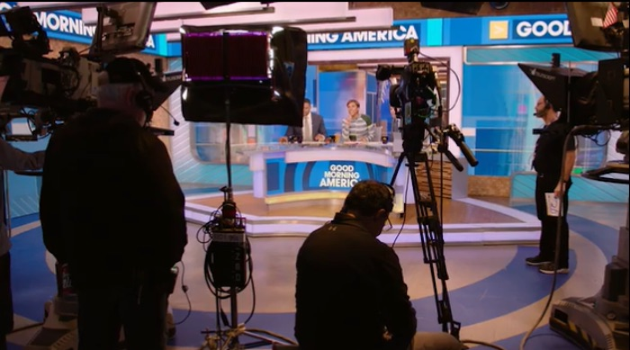 Behind the scenes of Good Morning America