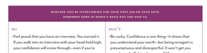 Robin Roberts MasterClass workbook