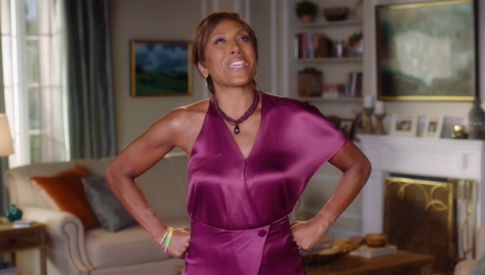 Robin Roberts giving public speaking advice in her MasterClass