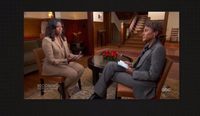 Robin Roberts with Michelle Obama