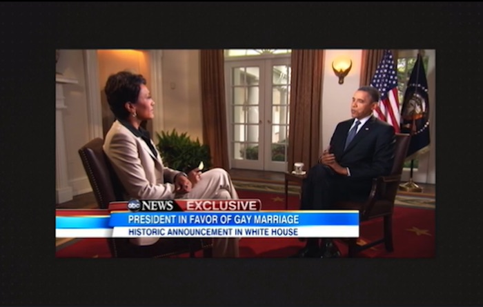 Robin Roberts with Obama